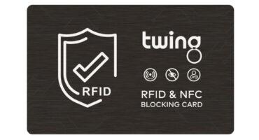 RFID / NFC Blocker Karte als Werbeartikel bei Twing: Trend Werbeartikel